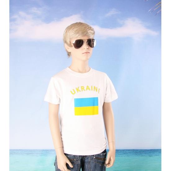 Oekraiense vlaggen t shirts voor kinderen