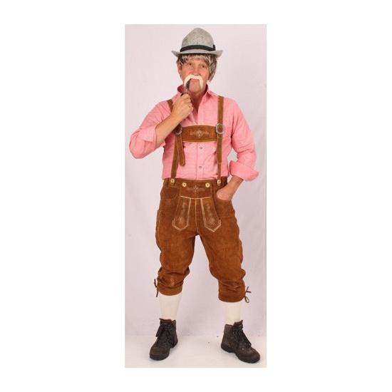 Oktoberfest lederhosen bruin