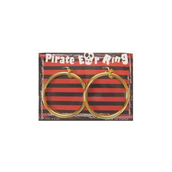 Oorbellen van Piraten