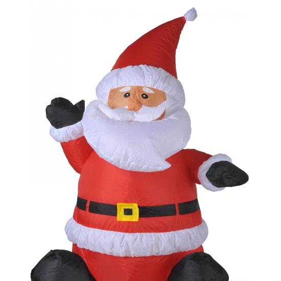 Opblaas kerstman 120 cm