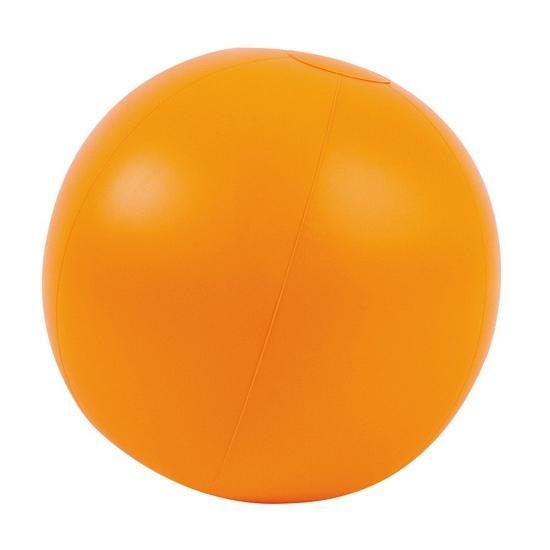Opblaas strandbal oranje