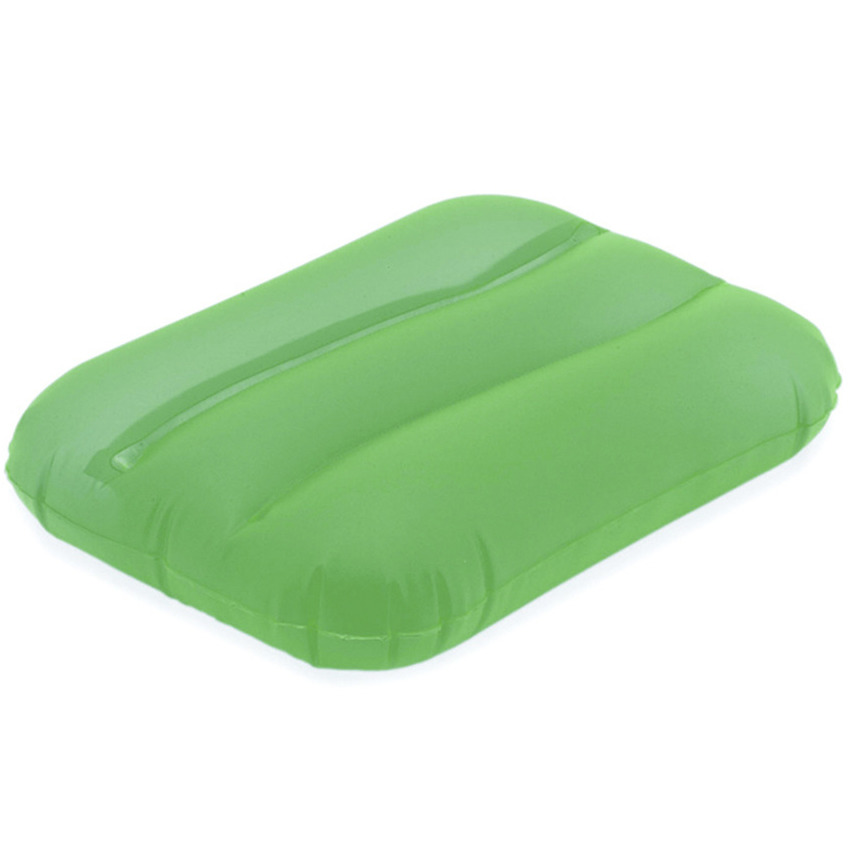 Opblaasbaar kussentje groen