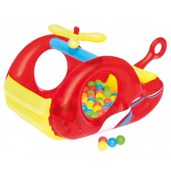 Opblaasbare heli ballenbak voor kinderen