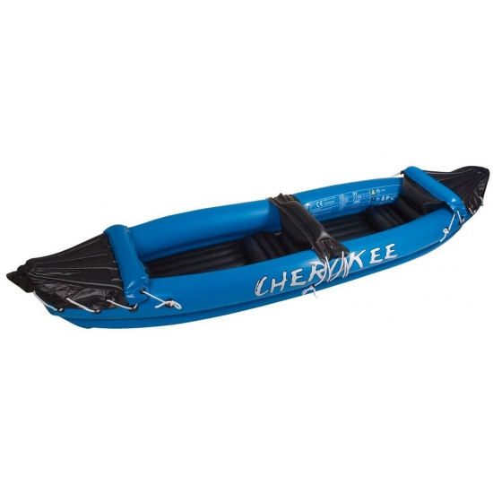 Opblaasbare kano blauw