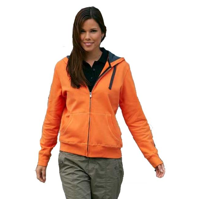 Oranje dames vest van katoen