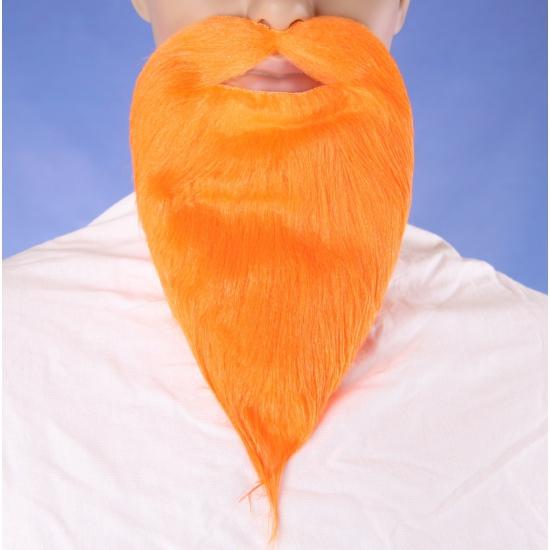 Oranje plak baarden