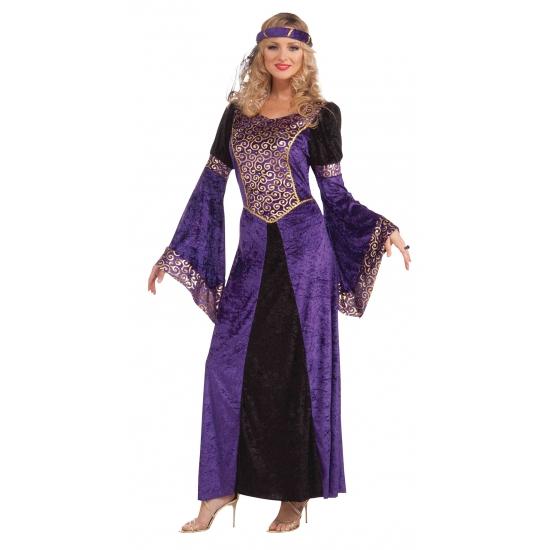 Paarse 1001 nacht jurk voor dames