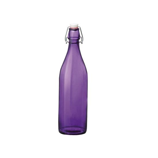 Paarse giara fles