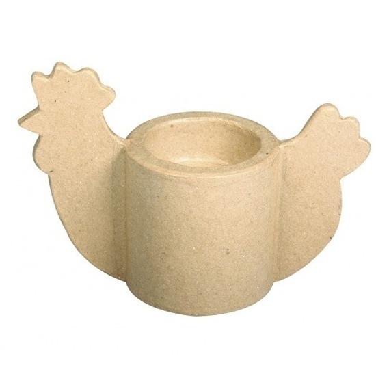 Paas eierdopjes van papier mache