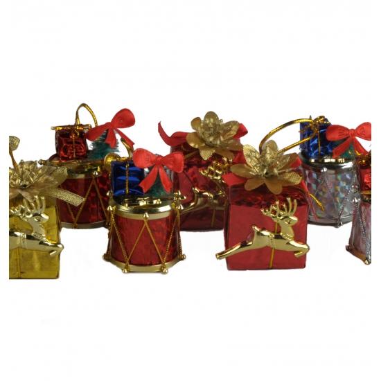 Pakjes kerstboom versiering