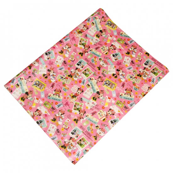Pakpapier Minnie Mouse op reis