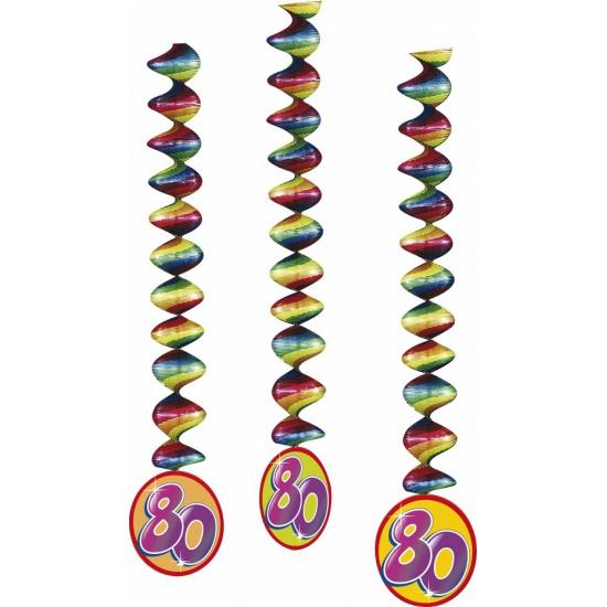 Party versiering 80 rotorspiralen