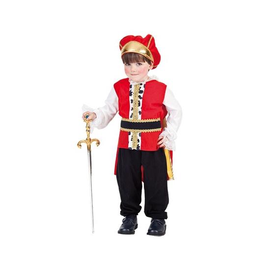 Peuter verkleedkleding koning