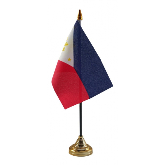Philipijnen vlag met standaard