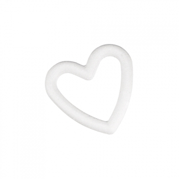 Piepschuimen open hart 20 cm