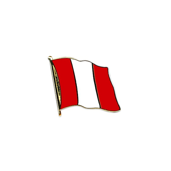 Pin speld vlag Peru 20 mm