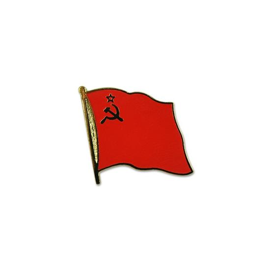 Pin speld vlag USSR 20 mm