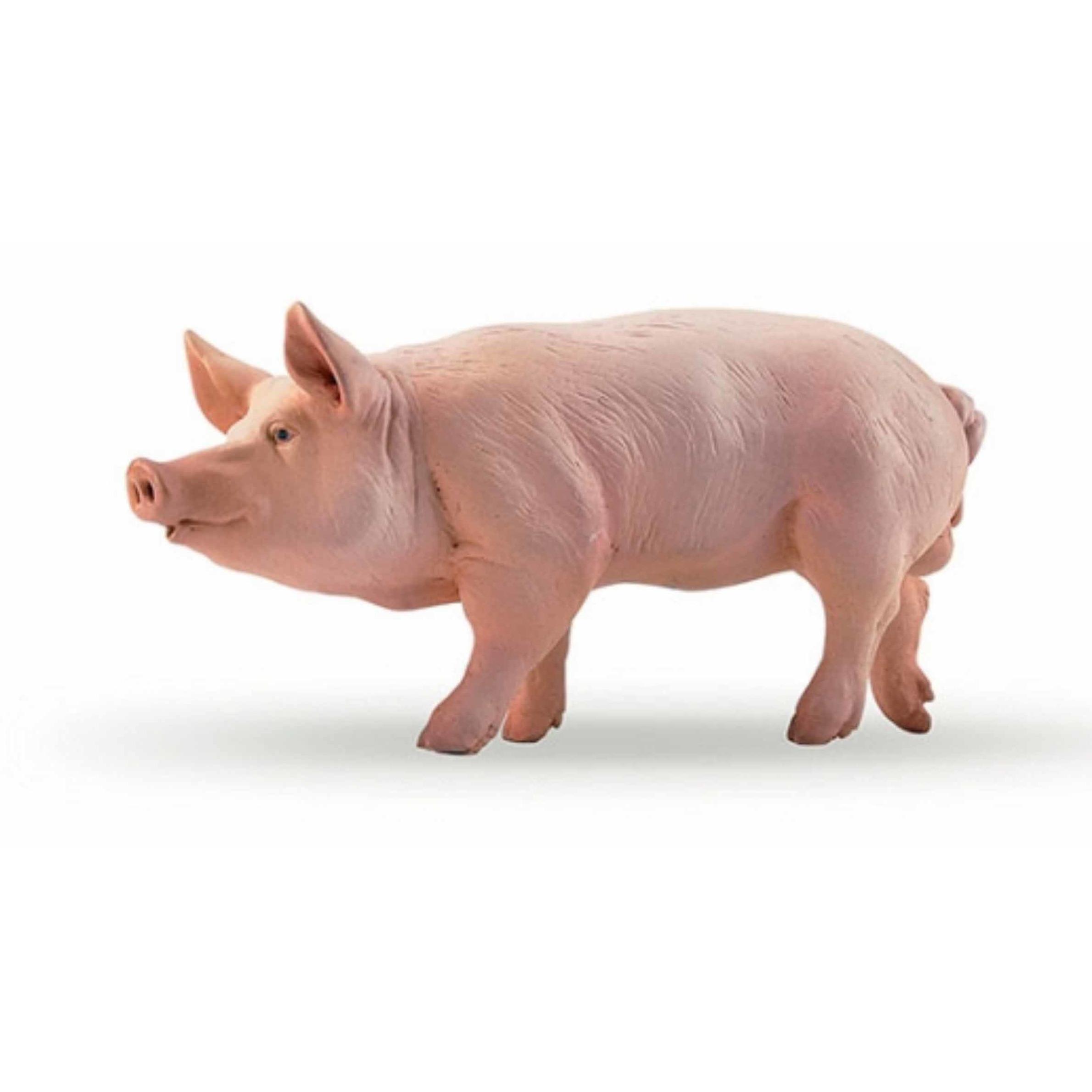 Plastic Papo dier varken