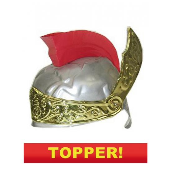 Plastic romeinse helm