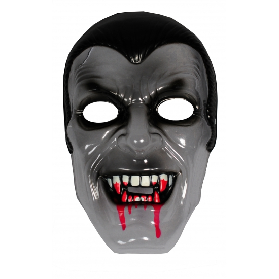 Plastic vampier masker transparant