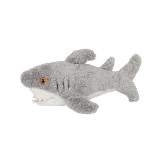 Pluche knuffel haaien 15 cm