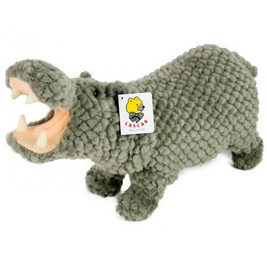 Pluche nijlpaarden knuffel 32 cm