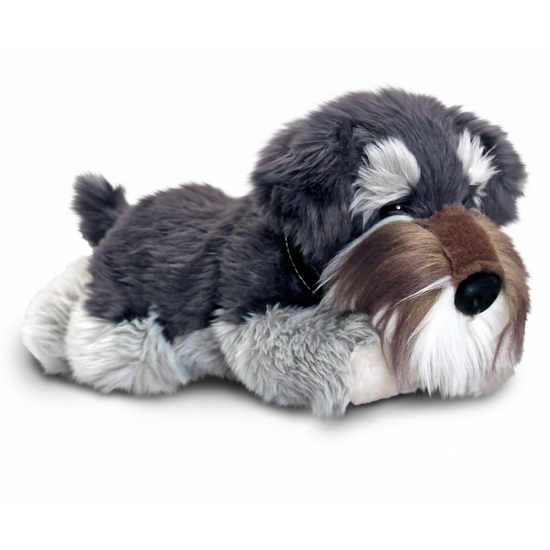 Pluche Schnauzer hond 30 cm
