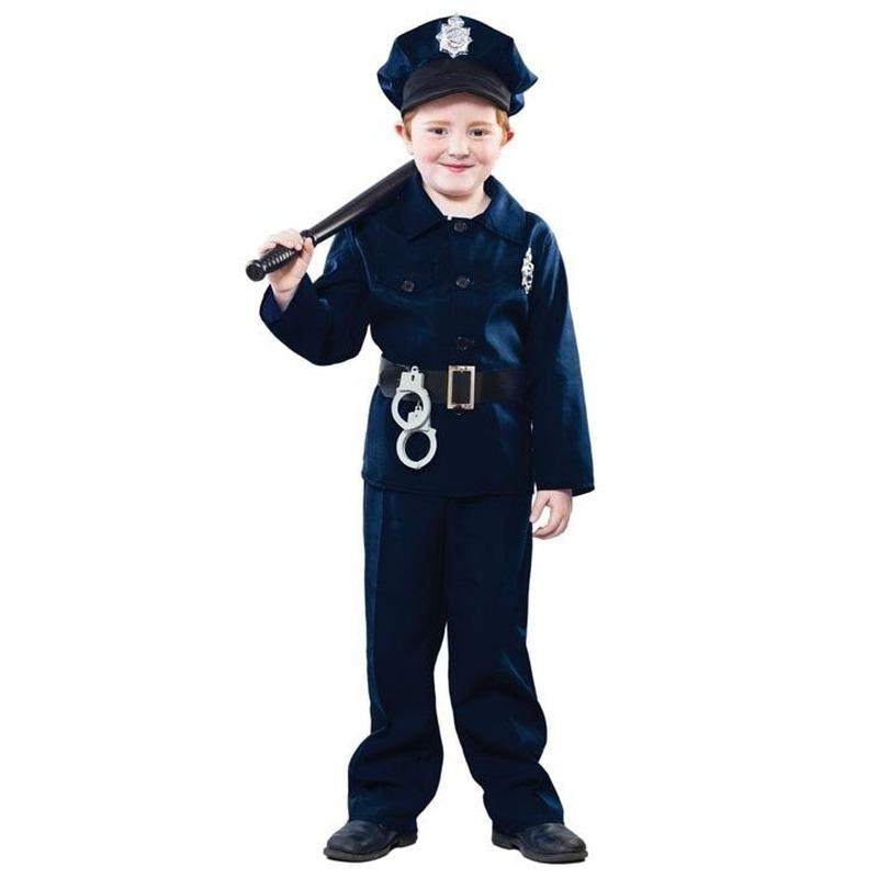 Politie verkleed kostuum voor kinderen