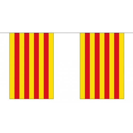 Polyester vlaggenlijn Catalonie 3 m
