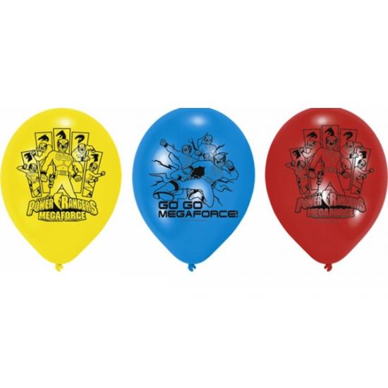 Power Ranger kinderfeest ballonnen