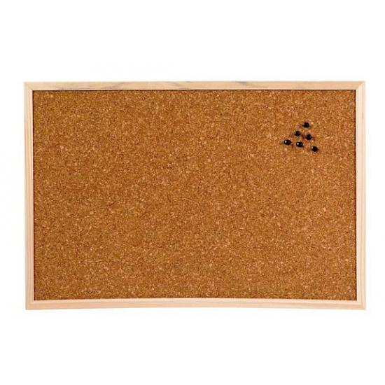 Prikbord van kurk materiaal