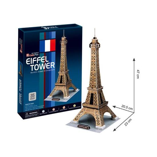 Puzzels 3D van de Eiffeltoren
