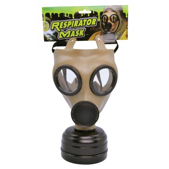 Realistisch verkleed gasmasker