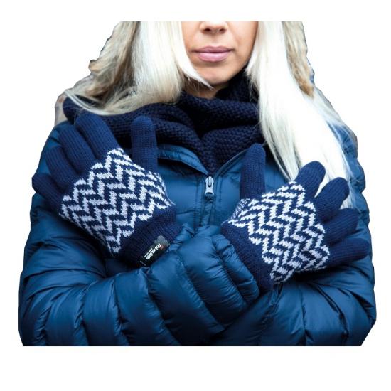 Result winter handschoenen navy