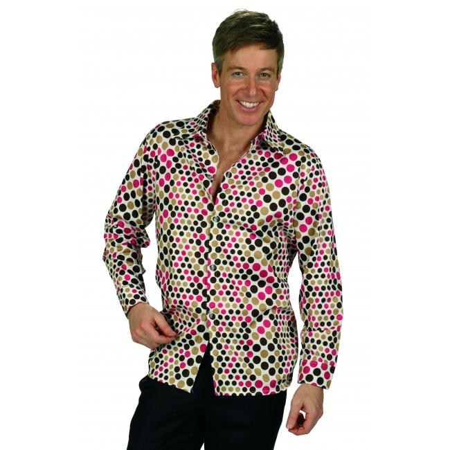 Retro overhemd voor heren