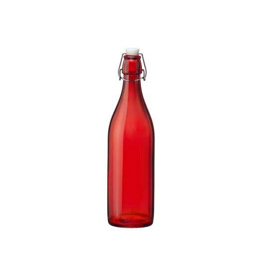 Rode giara fles