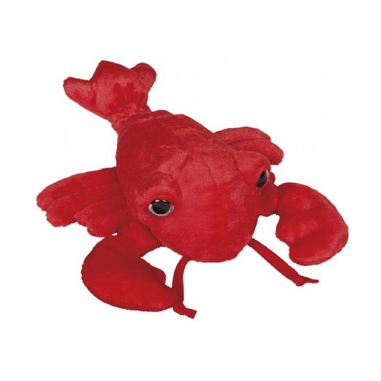 Rode kreeft knuffeldier 30 cm