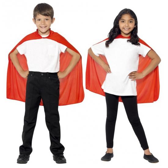 Rode mantel voor kinderen