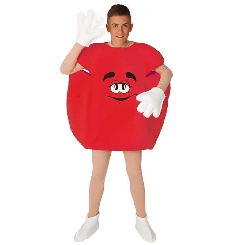 Rode snoep verkleedkleding
