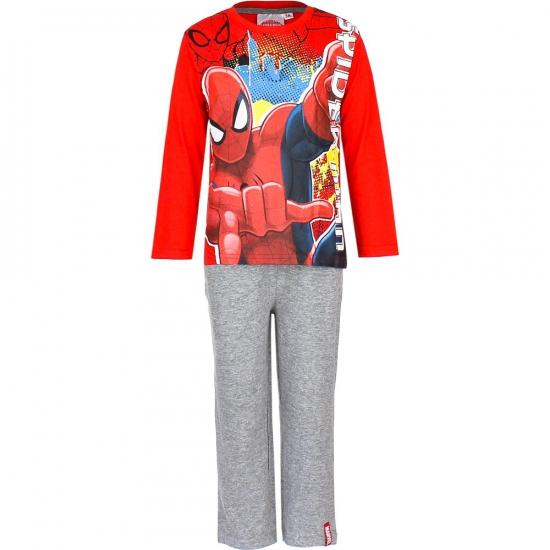 Rood grijze kinder pyjama Spiderman
