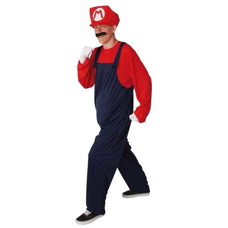 Rood heren kostuum loodgieter