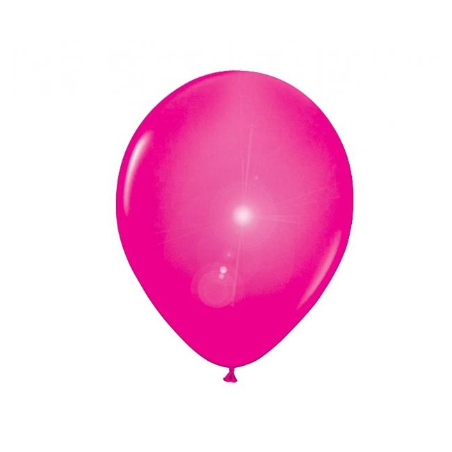 Roze ballonnen met LED lichtjes