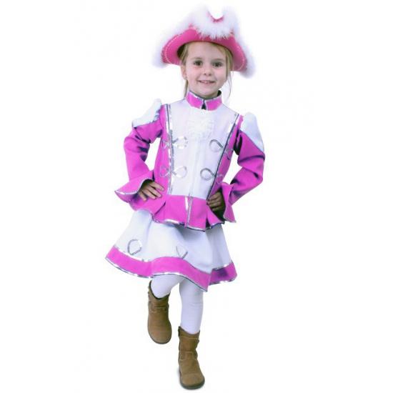 Roze dansmarieke pakje voor meisjes