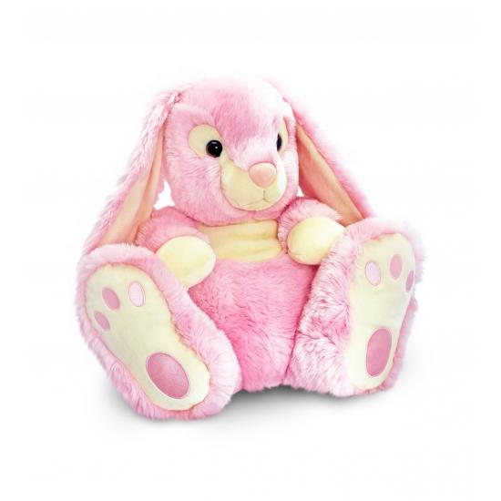 Roze knuffel Konijn 50 cm