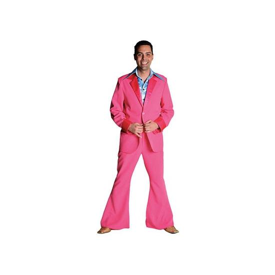 Roze verkleed kleding pak