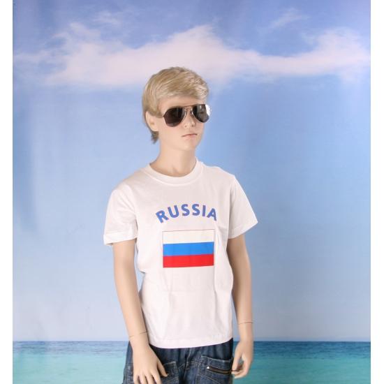 Russisch vlaggen t shirts voor kinderen