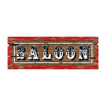 Saloon bord 55 x 20 cm