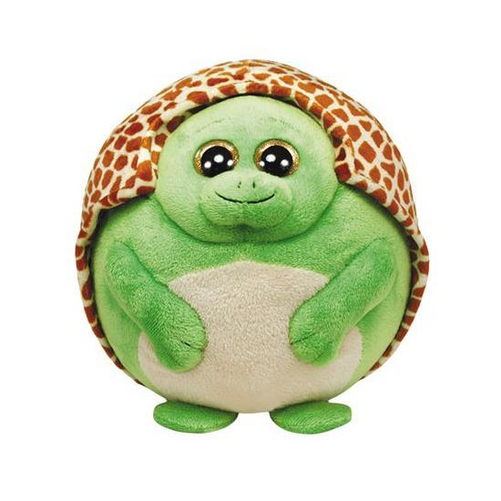 Schildpad Ty Beanie ballz groen 12 cm