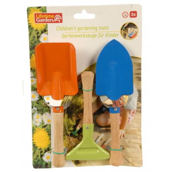 Setje tuin gereedschap voor kinderen