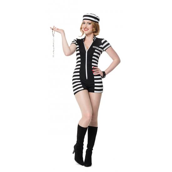 Sexy boeven kostuum voor dames